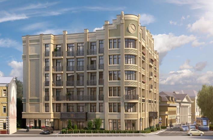 Покупка квартир в центре столицы. Покровский бульвар