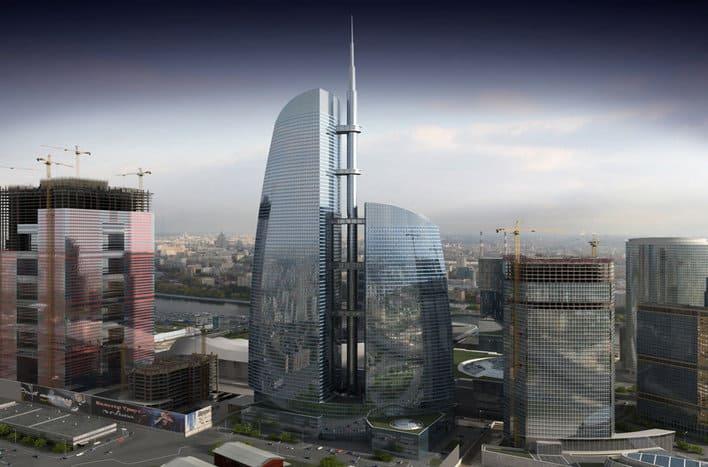 Башня Федерация, продажа апартаментов