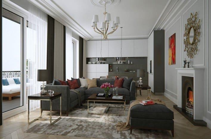 Квартира на Покровском бульваре. Купить апартаменты новые