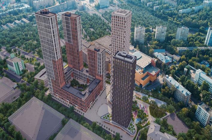 Квартира у парка Фили в Москве. ЖК Фили сити