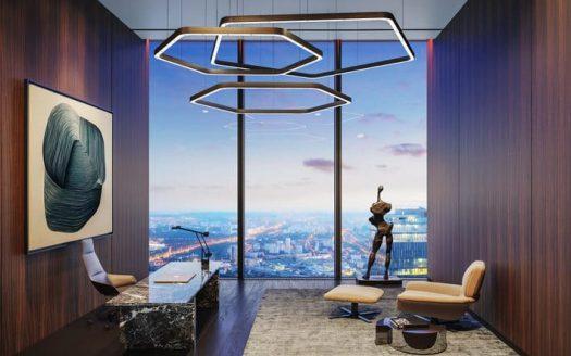 Квартира в небоскребе, выгодные цены