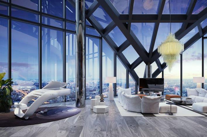 Квартира в небоскребе, купить