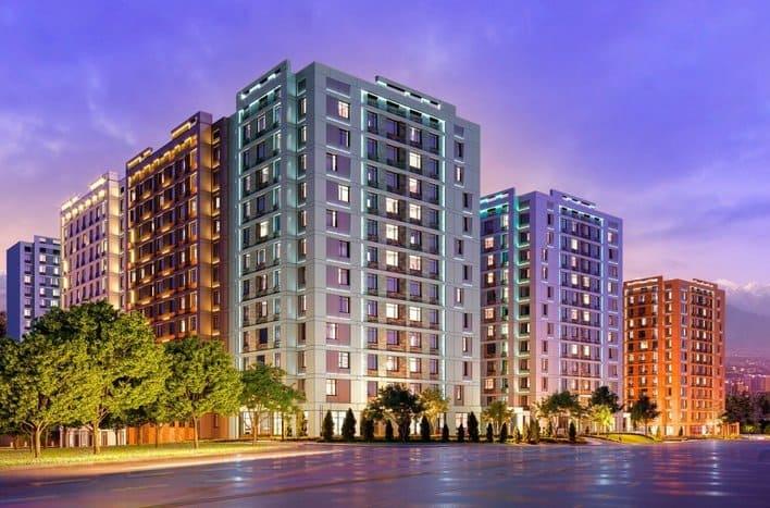 Жилые комплексы в Москве