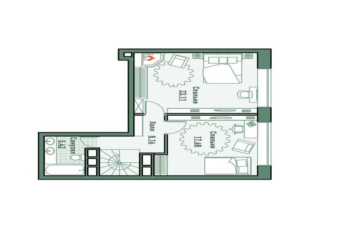 План этажа 2