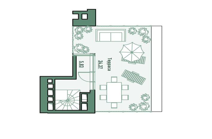 План этажа 3