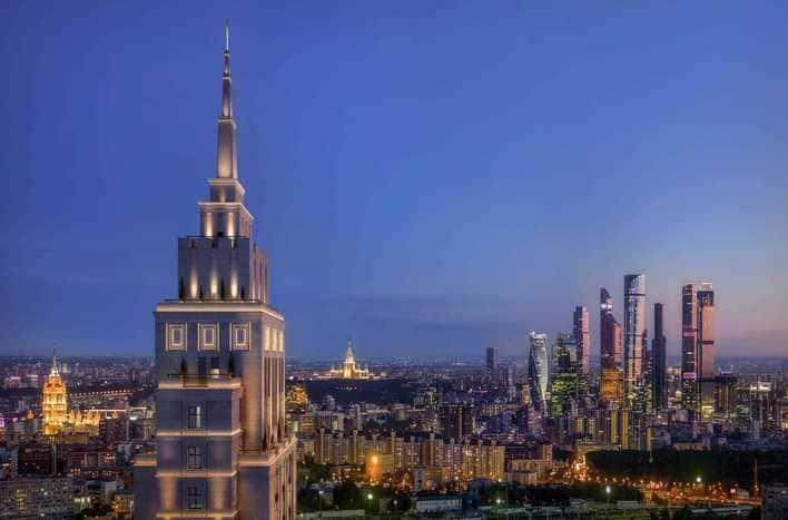 ЖК Alcon Tower на Ленинградке, фото, фидео