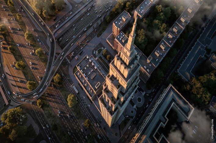 МФК Alcon Tower, планировки, цены