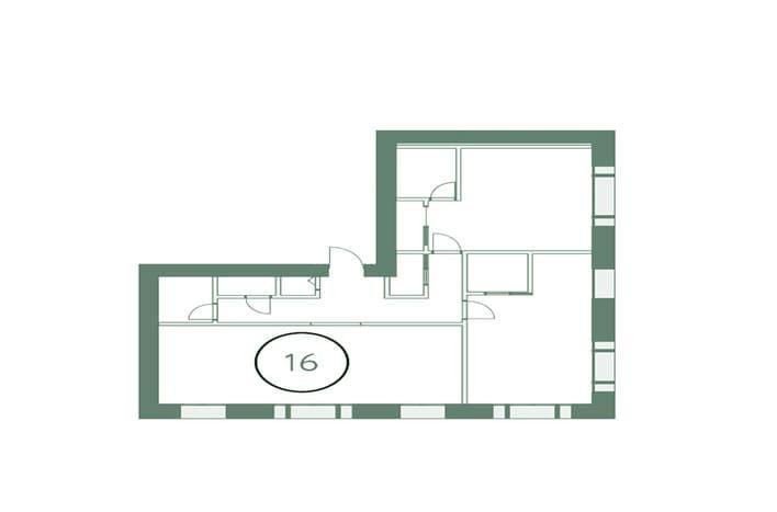 Квартира на Сухаревской, плаировка