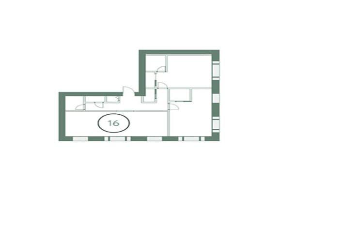 Квартира на Трубной. План