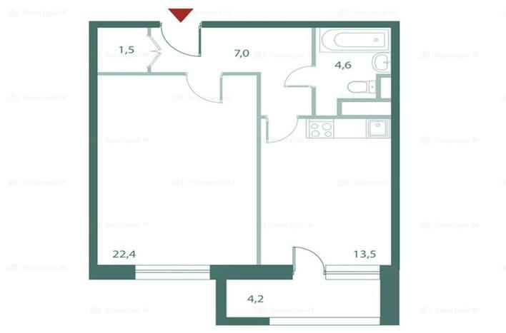 План квартиры