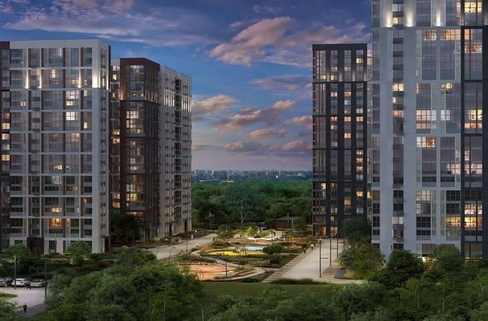ЖК Лесопарковый, цены на квартиры