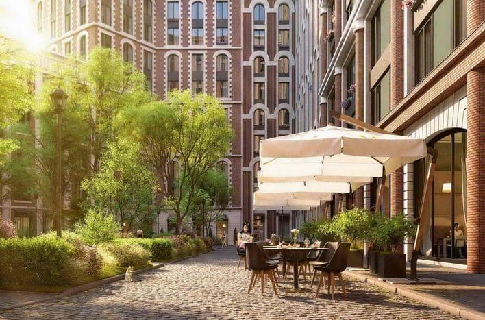 ЖК Серебряный фонтан, цены на квартиры от застройщика
