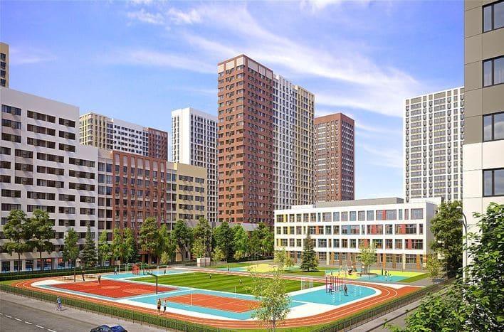 ЖК Сиреневый парк, купить квартиру с отделкой