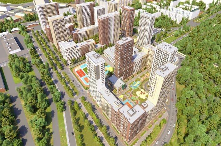 ЖК Сиреневый парк, обзор 2020, ход строительства, сроки сдачи