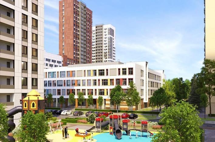 ЖК Сиреневый парк, купить квартиру от застройщика