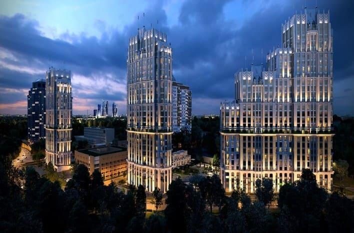 Квартира на Славянском бульваре в Москве