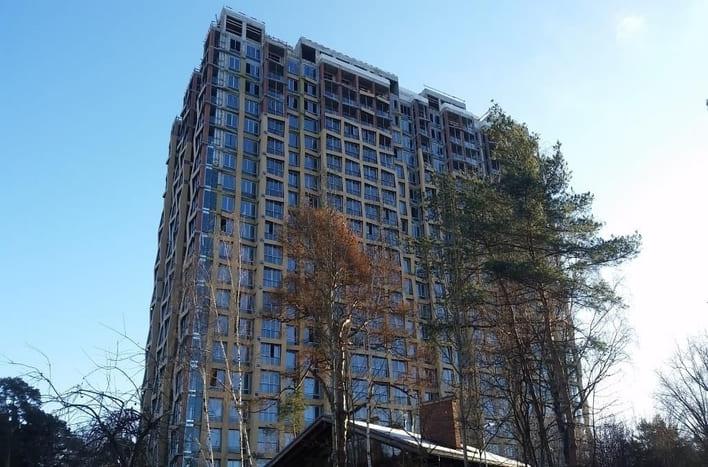 Квартира в Серебряном бору в Москве