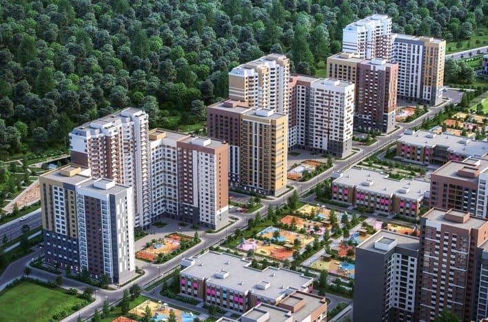Квартира на Симферопольском шоссе, новостройка