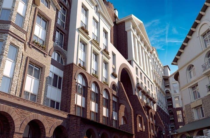 Квартира на Вишневой улице в новостройке