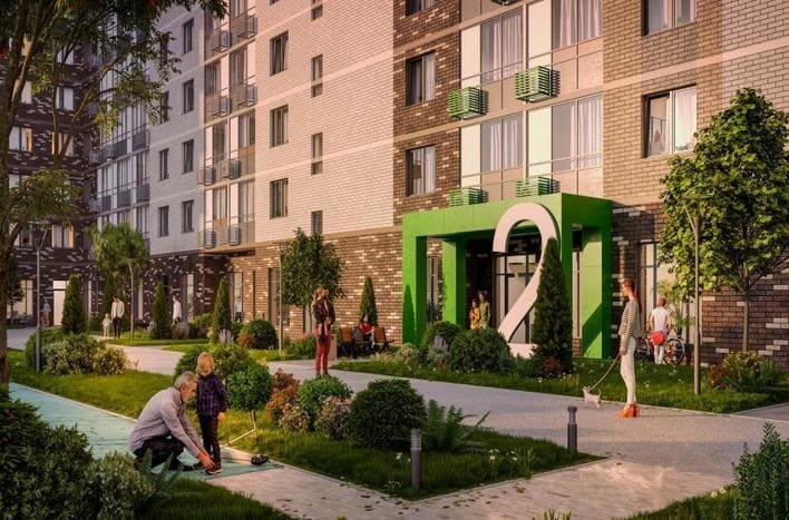 Квартира в Новомосковском, цены от застройщика