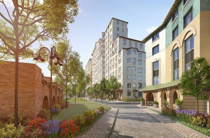 UP квартал римский, фото, планировки