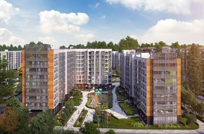 ЖК Цветочные поляны, квартиры с отделкой