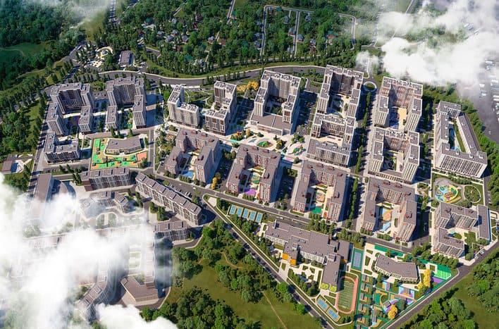 ЖК Испанские кварталы, адрес, фото