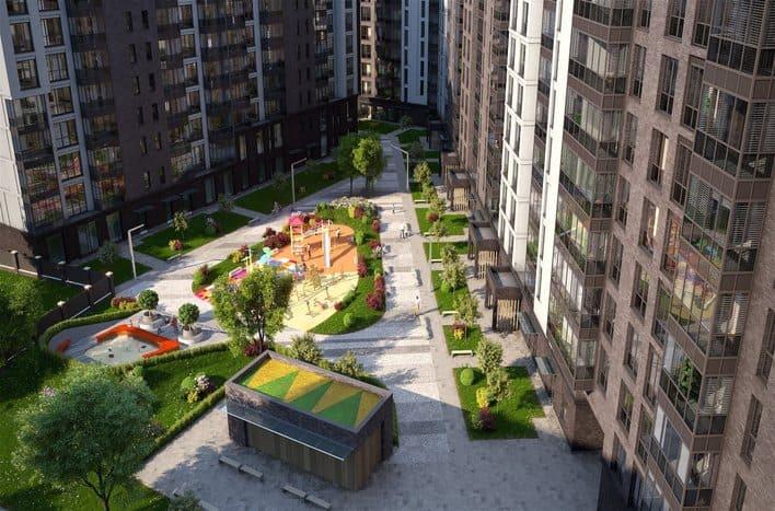 ЖК Первый квартал, планировки квартир