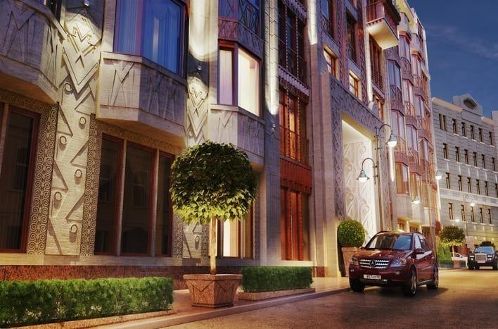 Квартира на Смоленской в Москве