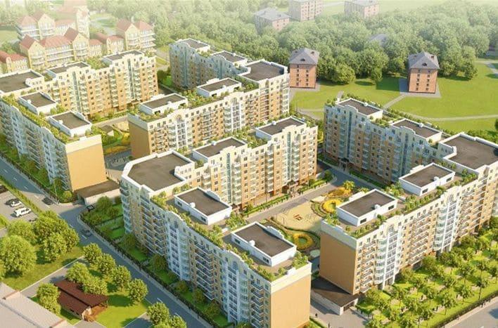 Квартира в Звенигороде, новостройка