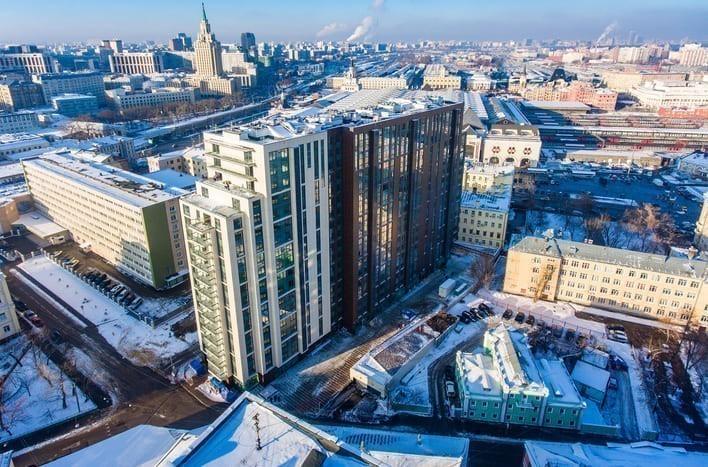 Новостройка на Басманной в Москве