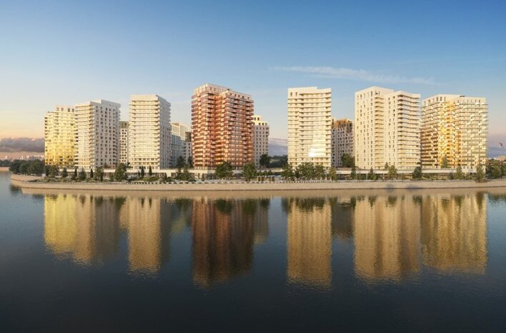 Новостройка на Дубровке в Москве